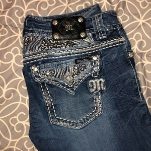 Women's size 32 Miss Me bootcut jeans